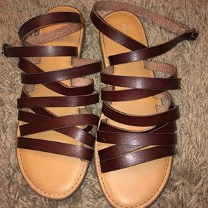 American Eagle Strappy Sandals